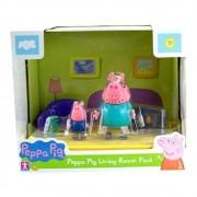 Cenário da  Peppa - Sala Papai Pig e George - Sunny 2303