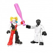 Dc Super Friend Imaginext - Arlequina & Máscara Negra Mattel