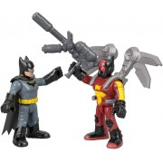 Dc Super Friends Imaginext - Batman & Firefly - Mattel