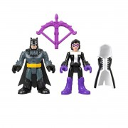 Dc Super Friends Imaginext - Batman & Huntress - Mattel