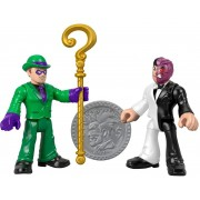 Dc Super Friends Imaginext - Charada & Duas-Caras - Mattel