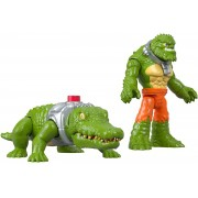 Dc Super Friends Imaginext - Croc & Crocodilo - Mattel