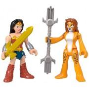Dc Super Friends Imaginext - Mulher Maravilha & Cheetah - Mattel