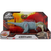 Dinossauro Albertosaurus Jurassic World Battle Damage Mattel