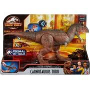 Dinossauro Carnotaurus Toro c/ Sons Jurassic World Attack