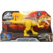 Dinossauro Cryolophosaurus c/ Sons Jurassic World Attack
