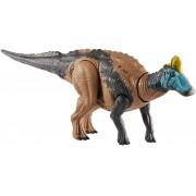Dinossauro Edmontosaurus c/ Sons Jurassic World Attack Mattel