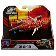 Dinossauro Sauropelta Jurassic World Savage Attack - Mattel