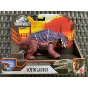 Dinossauro Scutosaurus Jurassic World Ataque Selvagem Mattel
