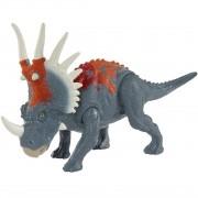 Dinossauro Styracosaurus  - Jurassic World Ataque - Mattel