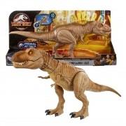 Dinossauro Tiranossauro Rex Rugido - Jurassic World Mattel