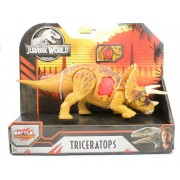 Dinossauro Triceratops Jurassic World Battle Damage - Mattel