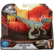 Dinossauro Velociraptor Blue Jurassic World Savage Attack - Mattel