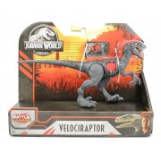 Dinossauro Velociraptor Jurassic World Battle Damage - Mattel