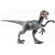 Dinossauro Velociraptor Jurassic World Battle Damage - Mattel