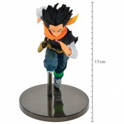 Boneco Dragon Ball - Android 17 - World Colosseum Banpresto