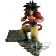 Boneco Dragon Ball - Goku S Saiyajin 4 - Dokkan - Banpresto