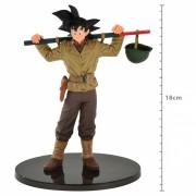 Boneco Dragon Ball - Goku 18cm - World Colosseum - Banpresto