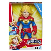 Figura Capitã Marvel - Marvel Super Hero Adventures - Hasbro