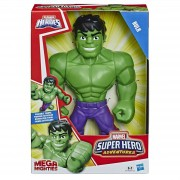 Boneco Hulk - Marvel Super Hero Adventures Playskool Hasbro