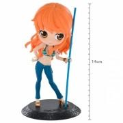 Boneca Q Posket - Figura Nami 14cm - One Piece - Banpresto