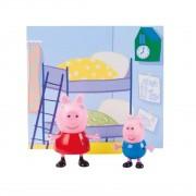 Figuras da  Peppa - Peppa Pig e George - Sunny 2300