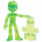 Figuras De Ação Ben 10 - Boneco Glitch Ben Fora do Omnitrix - Original Sunny