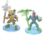 Fortnite 2 Mini Figuras - Bonecos Battle Hound & Flytrap