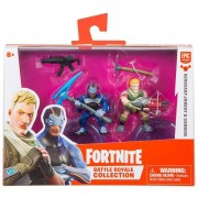 Fortnite 2 Mini Figuras - Sergeant Jonesy & Carbide - Original