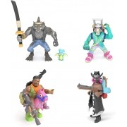 Fortnite 4 Mini Figuras Acessórios Battle Royale - Original
