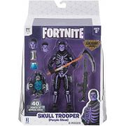 Fortnite Serie Legendária - Skull Trooper - 15 cm - Original