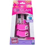 Go Glam - Kit de Esmalte Rosa - Kit de Decorar Unhas - Sunny