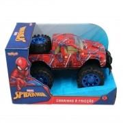 Homem Aranha Carro de Fricção Spiderman Pickup Marvel Toyng