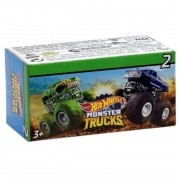 Kit 2 Carrinhos 6cm Surpresa - Hot Wheels Monster Trucks