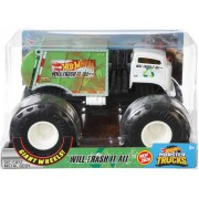 Hot Whells Monster Truck 1:24 - Will Erash It All - Mattel