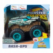 Hot Whells Monster Truck Bash-Ups - Cyber Crush - Mattel