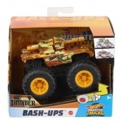 Carrinho Hot Whells Monster Truck Bash-Ups Invader - Mattel