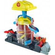 Pista Hot Whells Playset Super Quartel de Bombeiros - Mattel