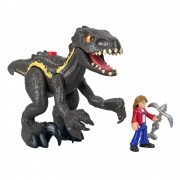 Boneco Imaginext Jurassic World - Indoraptor & Maisie Mattel