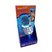 Karaokê Microfone Bluetooth Azul - Musical Infantil - Toyng