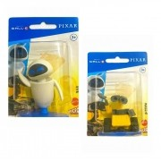 Kit 2 Mini Figuras Wall-e e EVE - Disney Pixar - Mattel