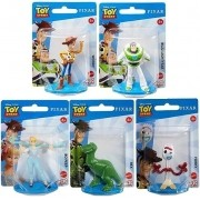 Kit c/ 5 Mini Figuras Toy Story  - Disney Pixar - Mattel