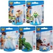 Kit c/ 5 Mini Figuras Toy Story  - Disney Pixar - Mattel