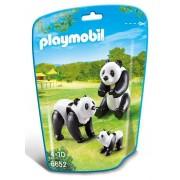 Kit com 2 Saquinhos ZOO Familia Panda e Suricate - Playmobil