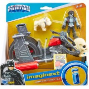 Boneco Lobo & Moto DC Super Friends Imaginext - Mattel