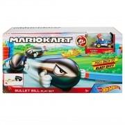 Mario Kart - Lançador Bullet Bill - Hot Wheels - Nintendo