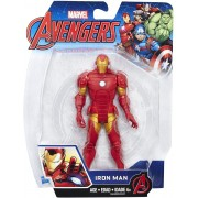 Marvel Avengers Boneco Homem de Ferro 15cm Articulado Hasbro