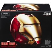 Capacete Eletrônico Homem de Ferro - Marvel Legends Series