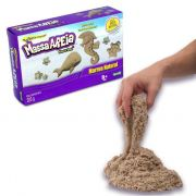 Massa Areia Kinetic Sand - Marron Natural - 283g - Sunny