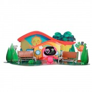 Mini Beat Power Rockers com PlaySet 3D Myo Multikids - BR995